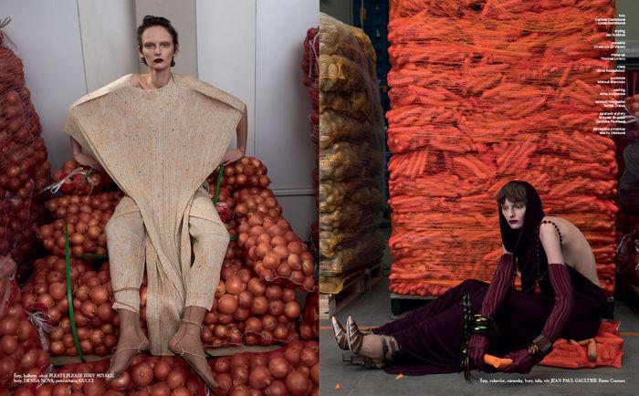 BIGOUDI: Thomas Lorenz für Vogue CS