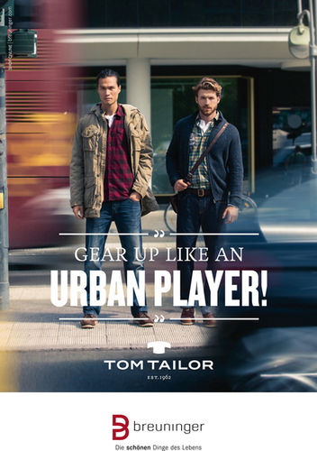 MAX VON TREU for TOM TAILOR/ BREUNINGER