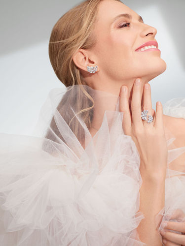 "ROCKENFELLER & GöBELS: Chopard ""Precious Lace"" with Poppy Delevigne by Christine Kreiselmaier"