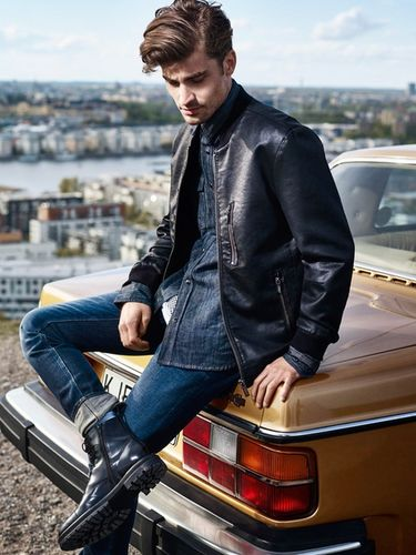BLOSSOM MANAGEMENT: Tony Lundström (Hair & Make-up) for Crocker Jeans