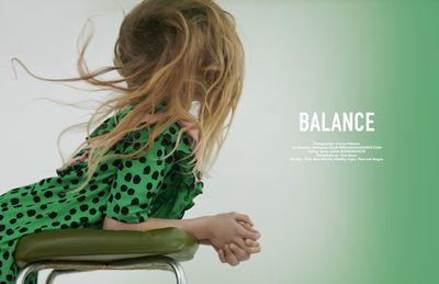 'Balance' NATASSCHA GIRELLI for HOOLIGANS MAGAZINE