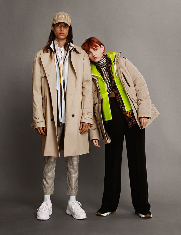 BERSHKA Campaign AW18: No rules. Disruption is the new fashion.
