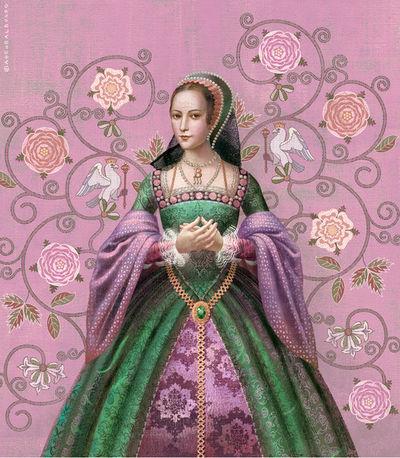 BALBUSSO TWINS Anne Boleyn Portrait Headline Publishing