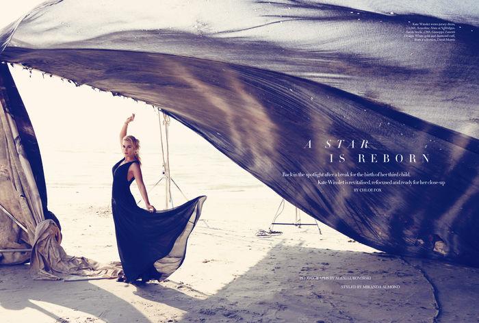 PATRICIA McMAHON: Kate Winslet for Harpers Bazaar UK