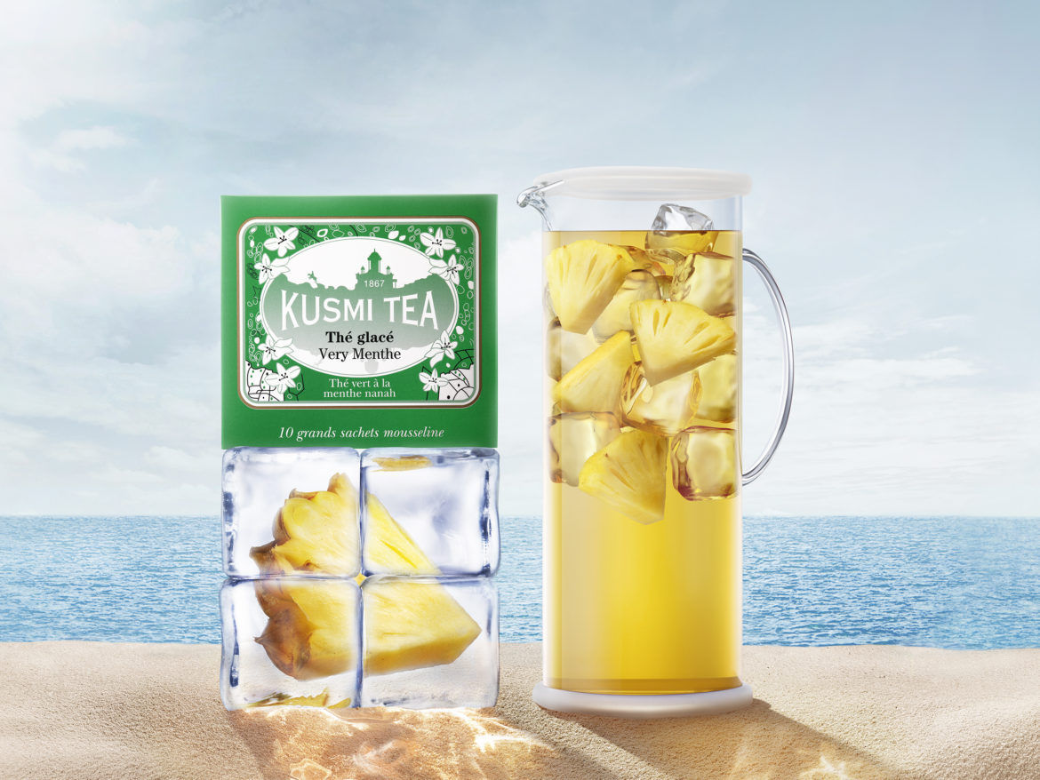 Dimitri Tolstoi photographed the new advertising campaign for Kusmi Tea