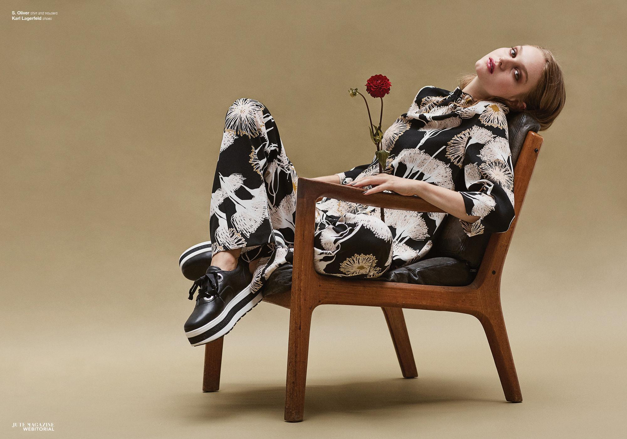Anna Clara for Jute Magazine shot by Verena Voetter