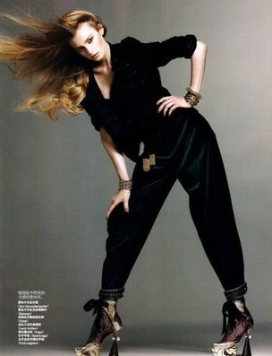 MUNICH MODELS : SIGRID Agren for VOGUE CHINA
