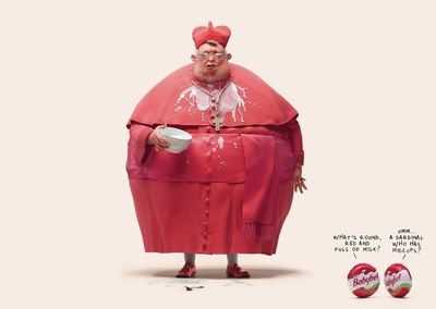 New campaign for Babybel 'What's round, red and full of milk?' by Carioca Studio c/o JSR AGENCY