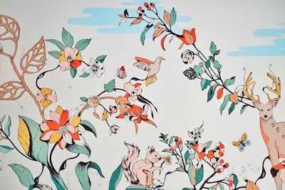 Pomme Chan - Wallpainting