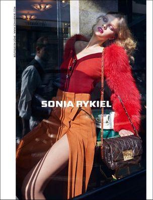 MUNICH MODELS : Constance JABLONSKI for SONIA RYKIEL