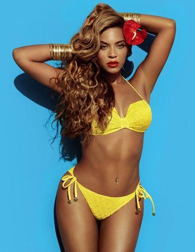 H&M Summer Campaign: Beyoncé as Mrs Carter in H&M