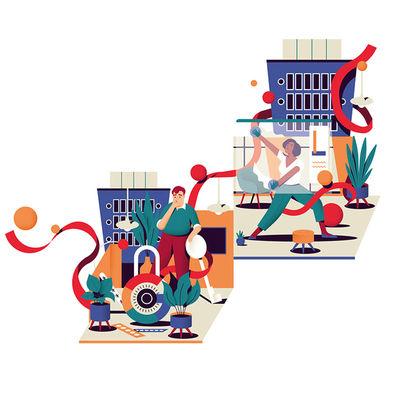 'Data Security around the world' for GOOGLE MAG by Anton Hallmann c/o SEPIA