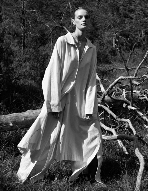 'Out in the woods' by ROGER WEBER for FACES MAGAZINE