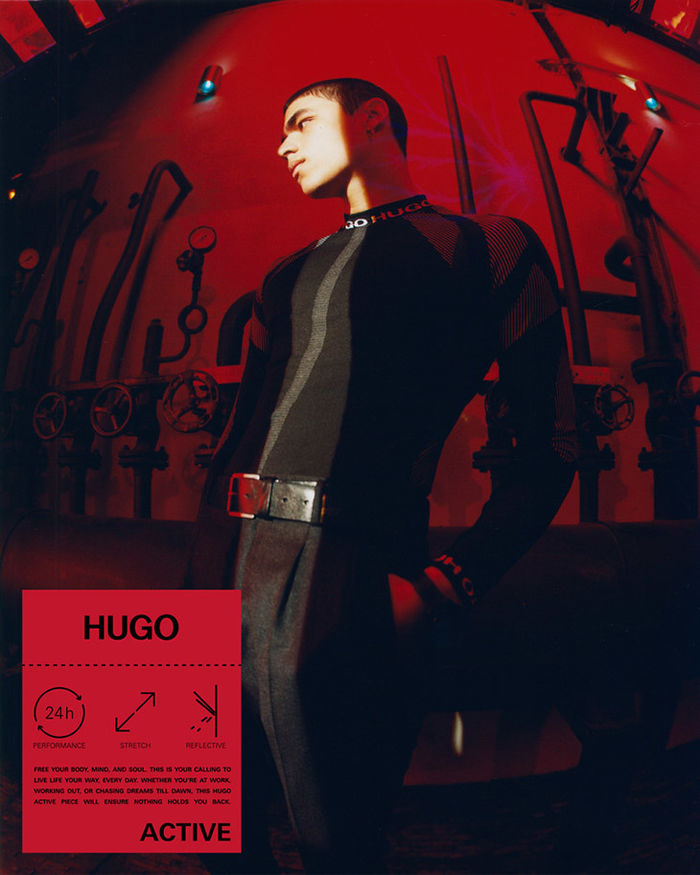 Anusha Wiangwang c/o ICONIC for HUGO FW21 Active Campaign
