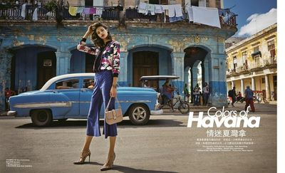 Hair & Makeup by NINA TATAVITTO for MARIE CLAIRE HONG KONG