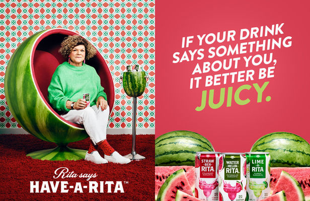 "Emily Shur c/o GIANT ARTISTS photographed the ""Have-A-Rita"" campaign for Budweiser's margarita-flavored malt beverage Lime-A-Rita"