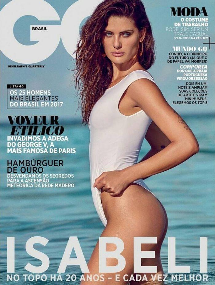 Isabeli Fontana for GQ Brasil November shot by Eduardo Rezende