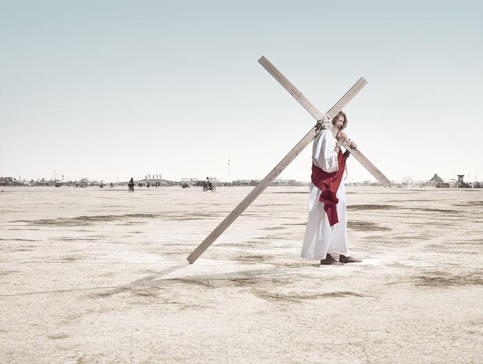 The Black Rock Desert by photographer Lodewijk Duijvesteijn