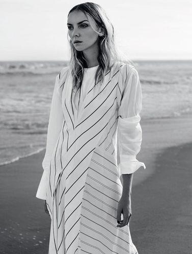 Heather Marks for Harper' Bazaar Kazahstan shot by Lara Jade