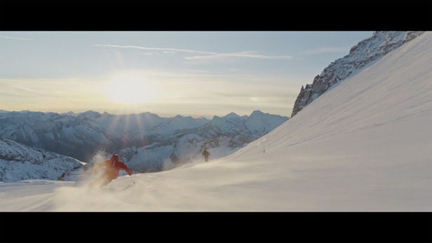"UPFRONT PHOTO & FILM GMBH: Ray Demski for DESCENTE ""Finding My Line"""
