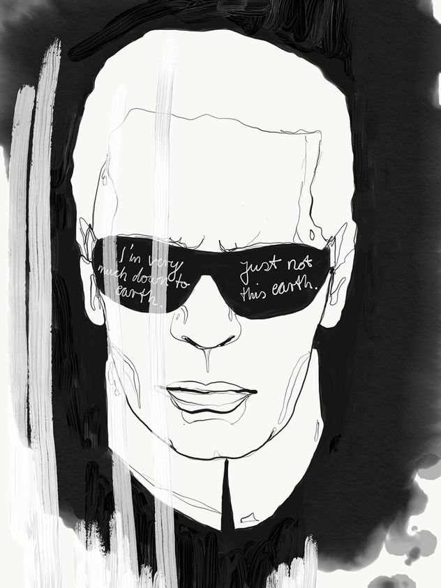 Tribute to Karl Lagerfeld / Katrin Wolff