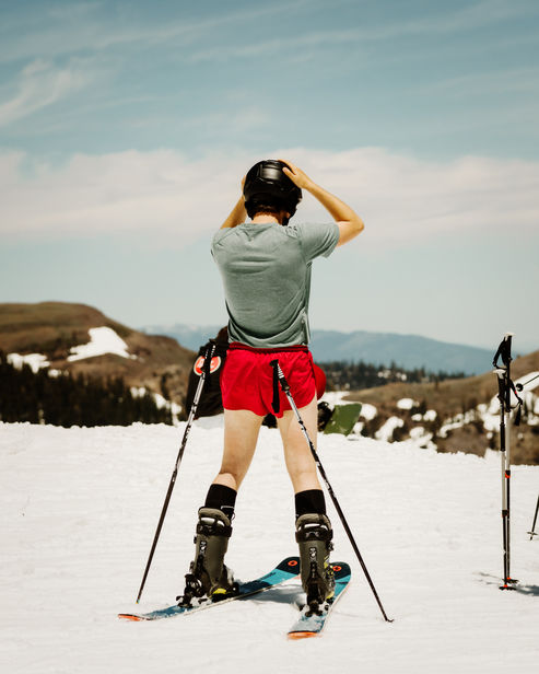 JAKE STANGEL c/o GIANT ARTISTS travelled to LAKE TAHOE for DEPARTURES MAGAZINE