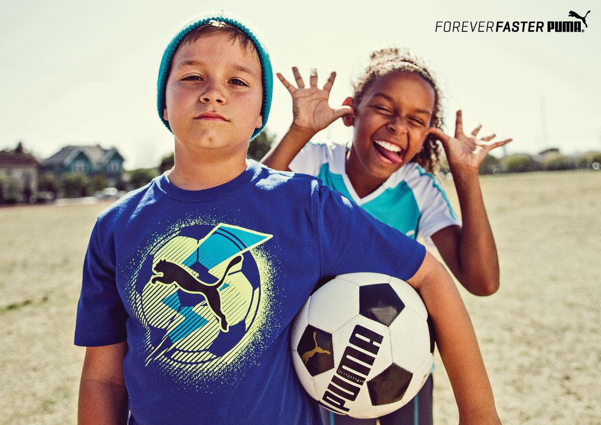 PUMA  Kids Campaign