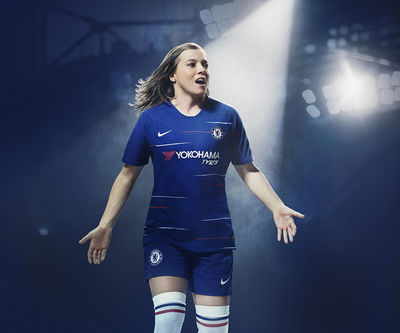 Nike Chelsea Kit Launch by Paul Calver c/o MAKING PICTURES