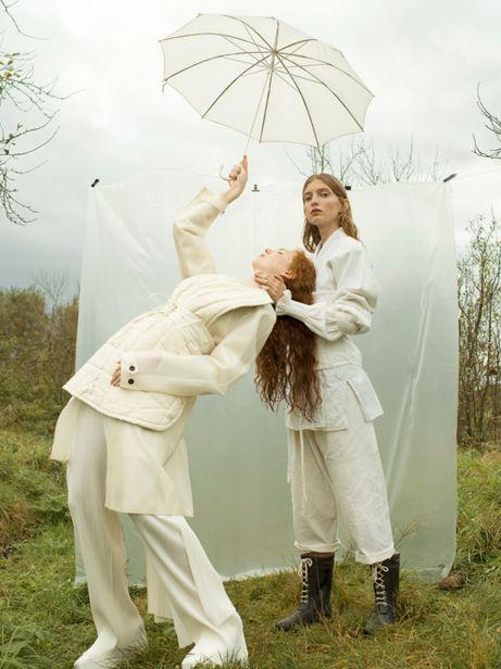 ANNA ROSA KRAU & SOPHIA SCHWAN for VOGUE Brasil