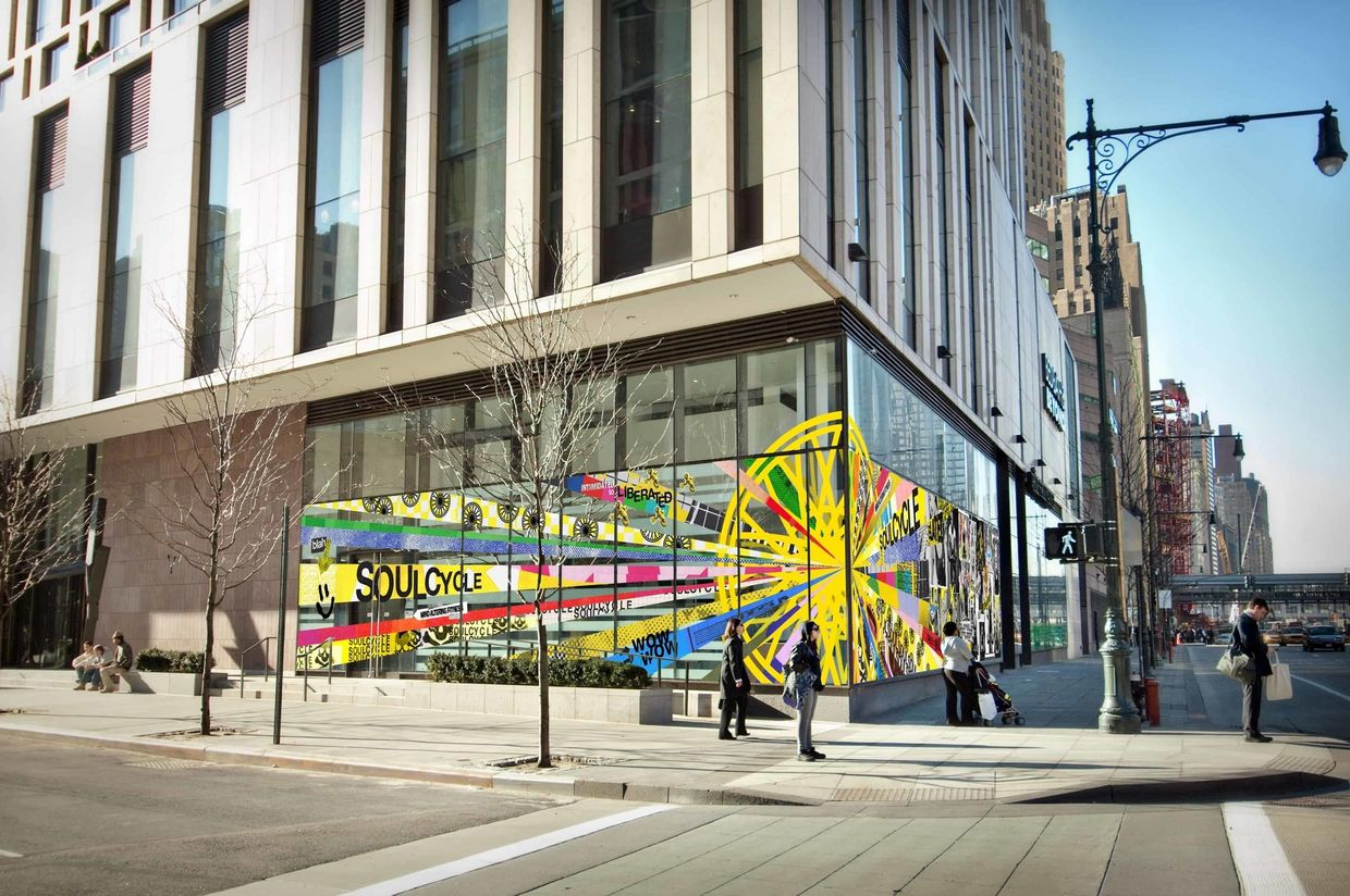 "GRACE RIVERA c/o GIANT ARTISTS  BRINGS ""AN EXPERIENTIAL IDEA"" TO LIFE FOR SOULCYCLE"
