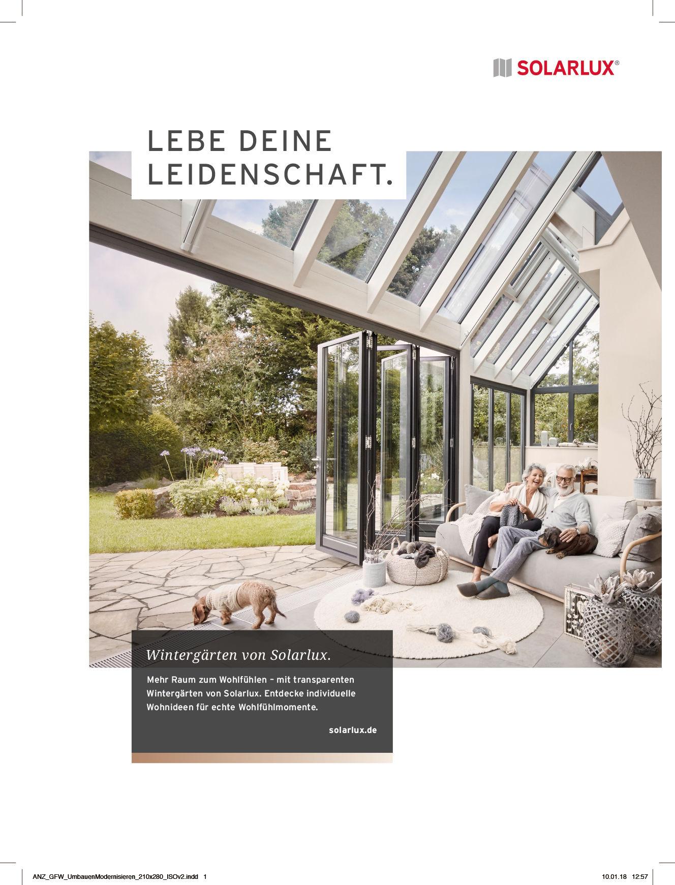 D. & A. Plattner GBR / fashion-styling and interior-design for Solarlux GmbH campaign: Lebe deine Leidenschaft.