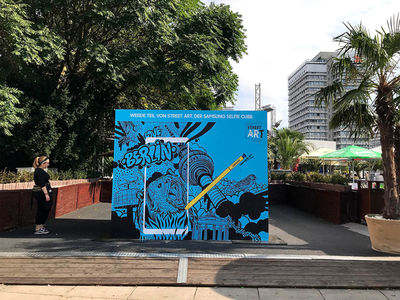 Casiegraphics for SAMSUNG // IFA & URBAN-ART-WEEK BERLIN // STREETART PROJECT