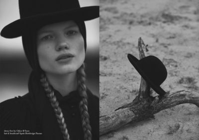 NINA KLEIN, Styling Natalia Witschke, Hair & Make Up Kerstin Huesges, Marie Schmidt