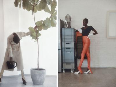 NINA KLEIN - Stylist Tomislav Blaic - Diane Betties - Vogue Portugal