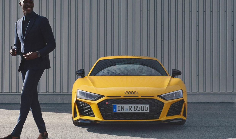 KLAUS STIEGEMEYER: Claudia Scholtan für Audi