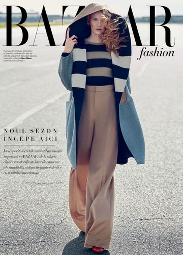 BLOSSOM MANAGEMENT GMBH : Tony Lundstöm (Hair&Make Up) for Harper´s Bazaar