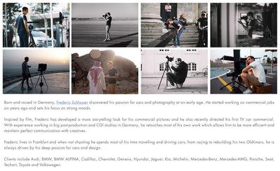 UPFRONT PHOTO & FILM GMBH: Frederic Schlosser current portfolio preview