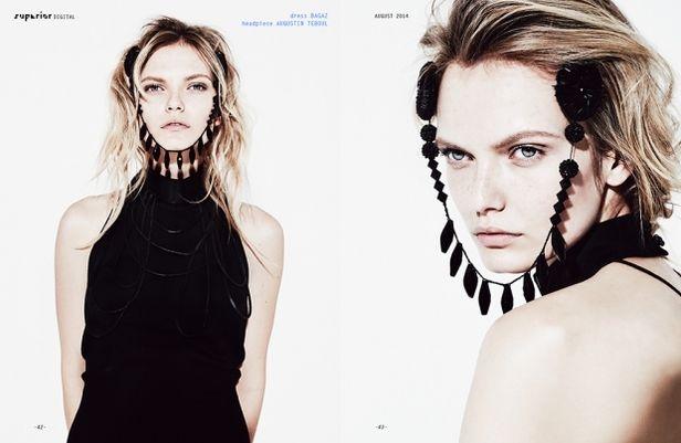 VIVA MODELS:  Iryna ROZHYK for SUPERIOR Magazine