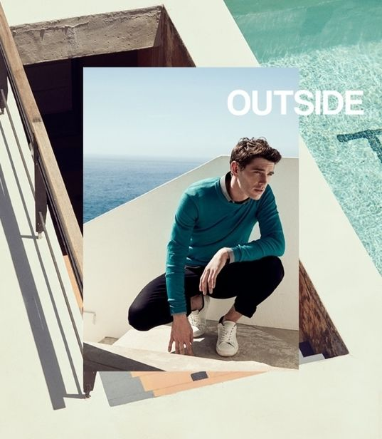 VIVA MODELS : Julien Sabaud for IKKS SS 2019 Lookbook