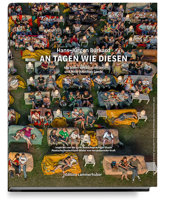 """EDITION LAMMERHUBER presents Hans-Jürgen Burkard´s """"AN TAGEN WIE DIESEN"""""""