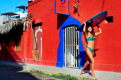 KRISTINA KORB GMBH, Anne Menke, Editorial, Honey Magazine, Fashion, swimwear, surfing, Sayulita, Mexico