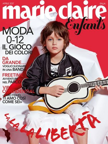 MARIE CLAIRE Enfants Italia Cover by Achim Lippoth