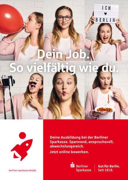 HAUSER FOTOGRAFEN: +++ TOBIAS SCHULT for BERLINER SPARKASSE +++ Agency: Sparkassen-Finanzportal GmbH