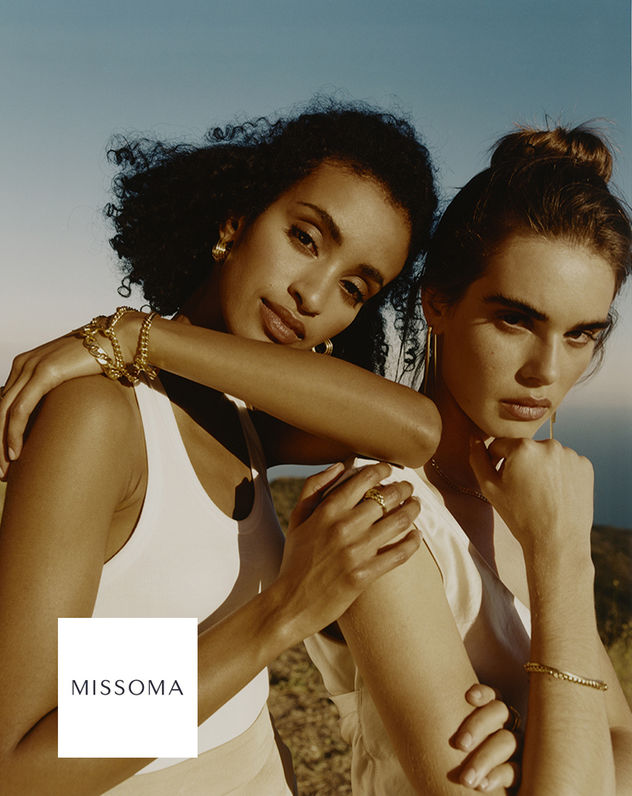 "GLAM PRODUCTION produced Lucy Williams' x MISSOMA ""1987 Collection"""