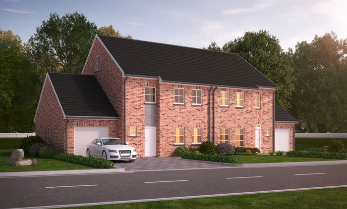 Architectural 3d Exterior Rendering - PRED SOLUTIONS