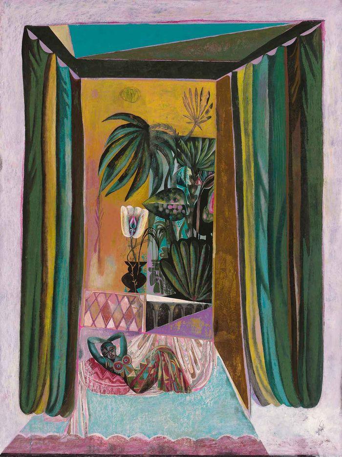 OLAF HAJEK 'Green Room' Exhibition