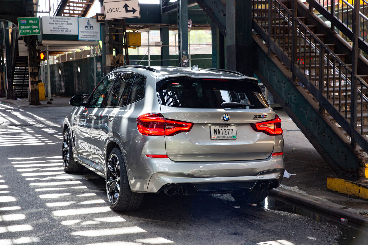 BMW X3 M in New York by Wolfgang Groeger-Meie