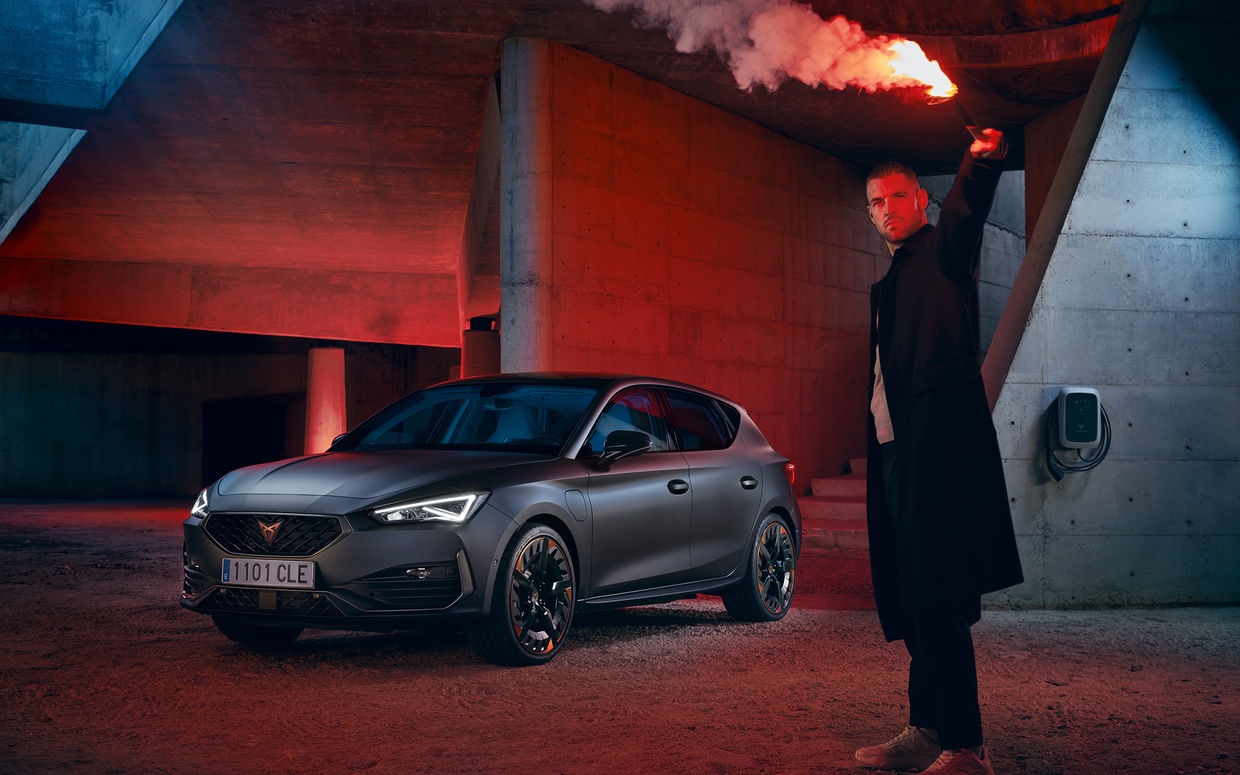 MARC TRAUTMANN The all new Cupra Hybrid