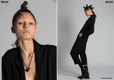 LIGANORD ARTIST PEGGY KURKA / HAIR MAKE-UP - YOKO MAGAZINE