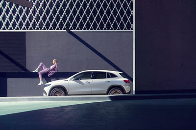 NINA KLEIN, Styling Natalia Witschke for Mercedes EQA by Frederic Schlosser